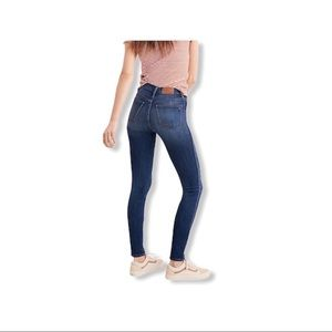 "Madewell Petite 10"" High-Rise Skinny Jeans."